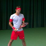 Roger Federer and the Wilson Pro Staff RF97