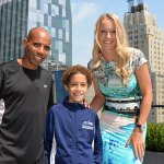 caroline wozniacki and meb keflezighi enter the tcs new york city marathon