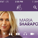 all about maria: sharapova launches app