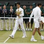 Novak Djokovic beat Roger Federer in the Wimbledon finals of 2015