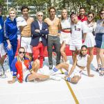 rafael nadal plays in tommy hilfiger's sexy tennis tournament