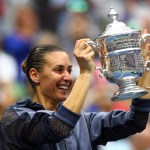 flavia pennetta wins 2015 us open in stella