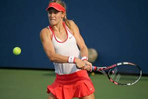 Eugenie Bouchard at the US Open