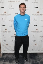 """NEW YORK, NY - AUGUST 27: Andy Murray attends """"An Evening With Andy Murray"""" event at Langham Place on August 27, 2016 in New York City. (Photo by Rob Kim/Getty Images for Langham Place, New York)"""