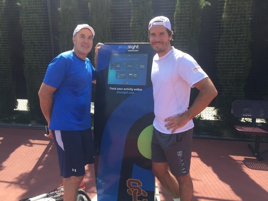 Tommy Haas joins Playsight