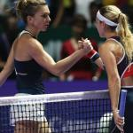 Dominika Cibulkova wins the WTA Finals in Singapore