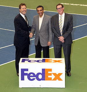 fedex express + atp continues on | tennis served fresh