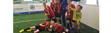U8-F2 Junioren: belegen 3. Platz nach starker Leistung beim 8. Soccer4You Cup in Wiesloch
