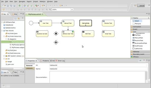 Screenshot-Activiti - MyProcess.activiti (BPMNdiagram) - Eclipse SDK