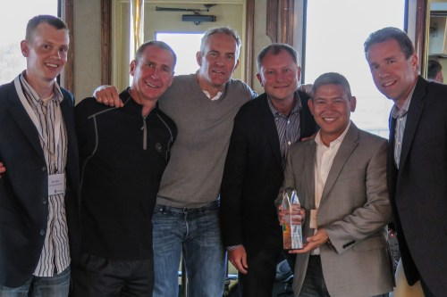 TSG Accepting Alfresco Americas Partner of the Year