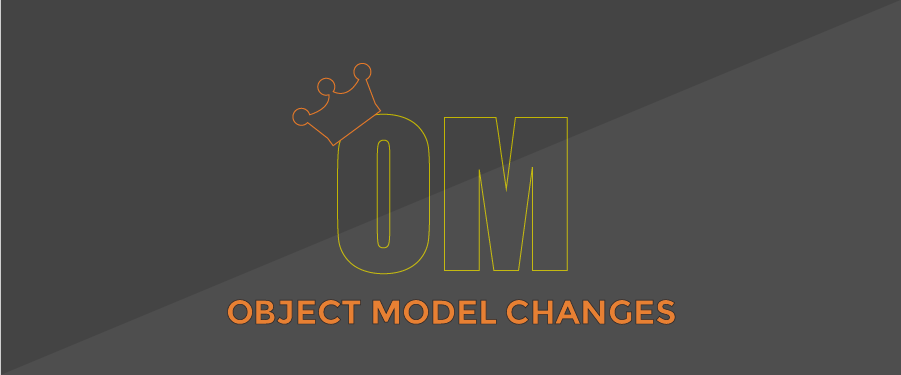 Why Can't I Change My Object Model?
