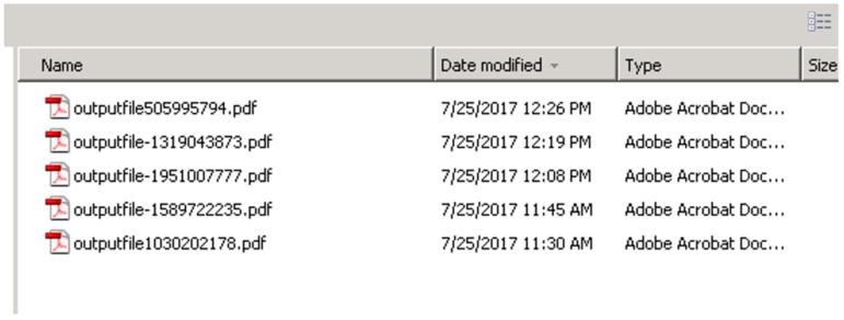 ADTS temp-folder