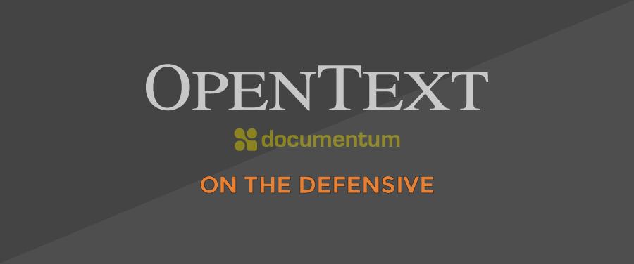 DCTM-OpenText-DEFENSIVE