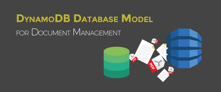 AWS DynamoDB Database Model