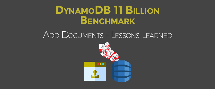 DynamoDB 11 Billion Benchmark - Upload