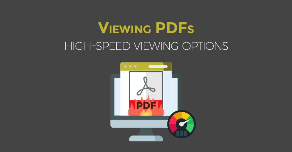 highspeed viewing pdfs