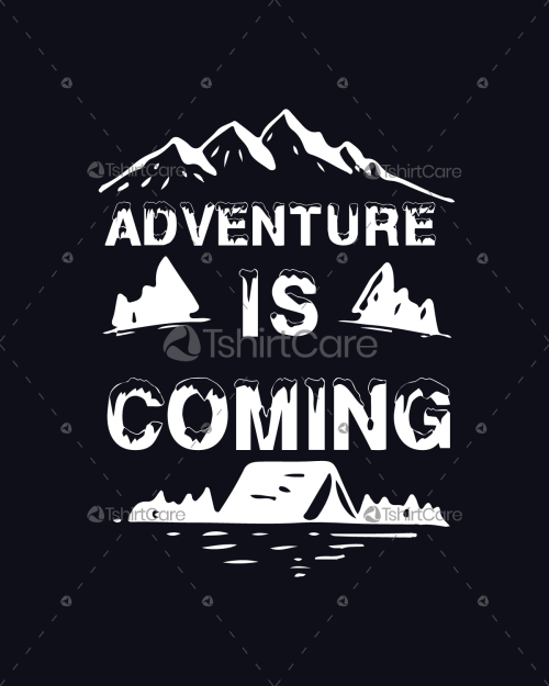 5105fb972 Adventure is Coming Mountain Forest Camping Design For T Shirt, Hoodie,  Sweaters, Tanks