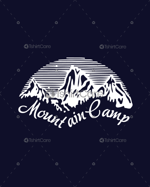 9c91d731a Mountain camping T Shirt design I Love Camping T-Shirts For Adventure Men's  & Women's