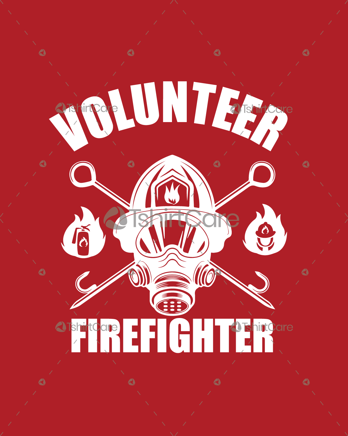 Volunteer Firefighter T Shirt Design Fire Department T Shirts Design