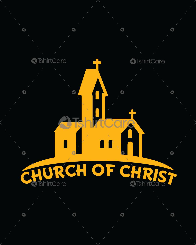 Religious T Shirt Designs | Church Of Christ T Shirt Design I Love Church Of Christ T Shirts For