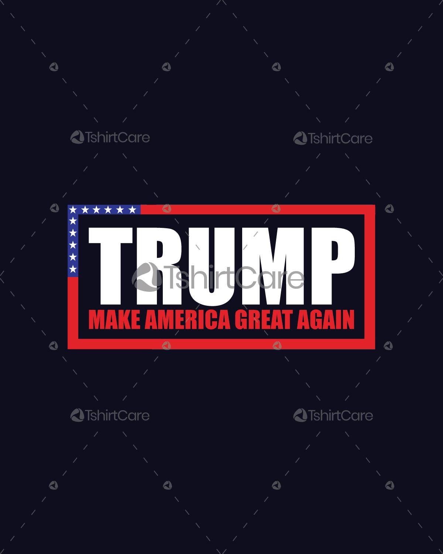 Make A Shirt Design | Donald Trump Make America Great Again T Shirt Design Usa President T