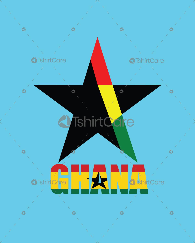 Ghana Flag T-Shirt Design Africa Ghanaian Flag Tee for Mens & Womens -  TshirtCare