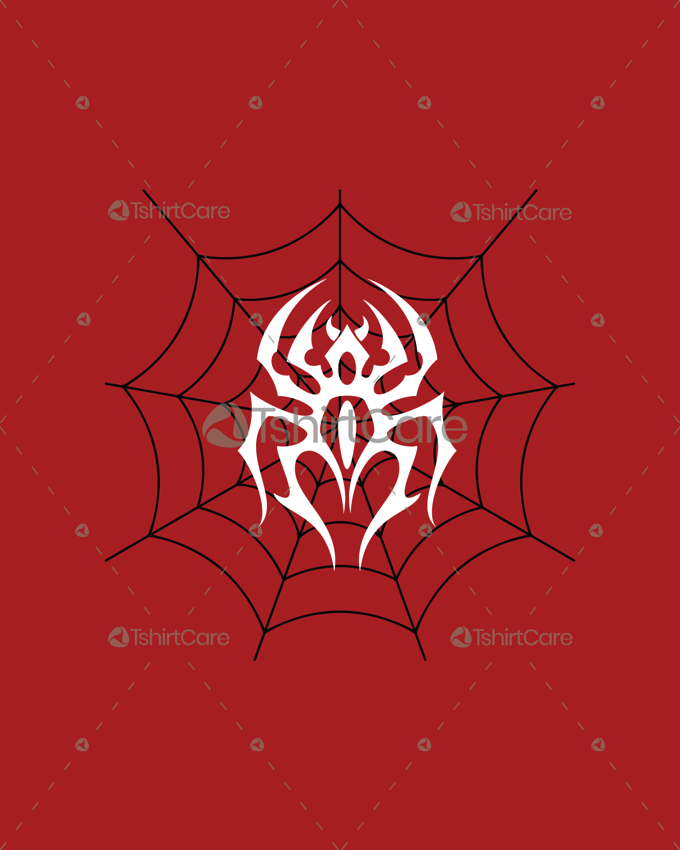Web Designer Funny Spider On Its Web Mens T-Shirt
