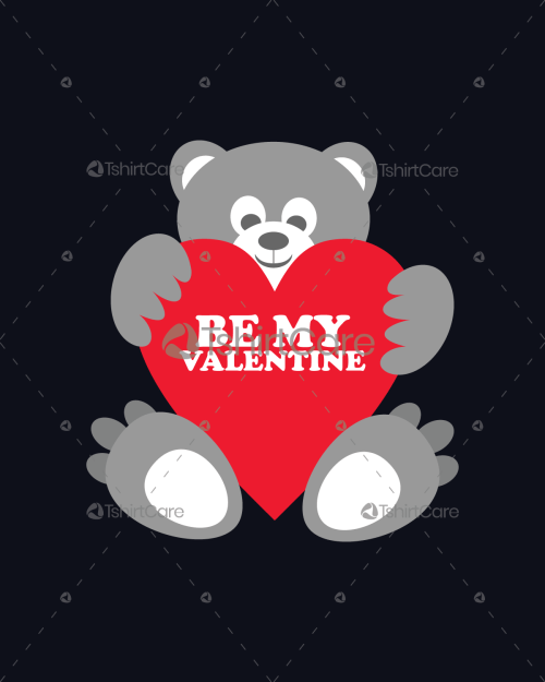 Be my valentine doll love T shirt Design for Gift TshirtCare
