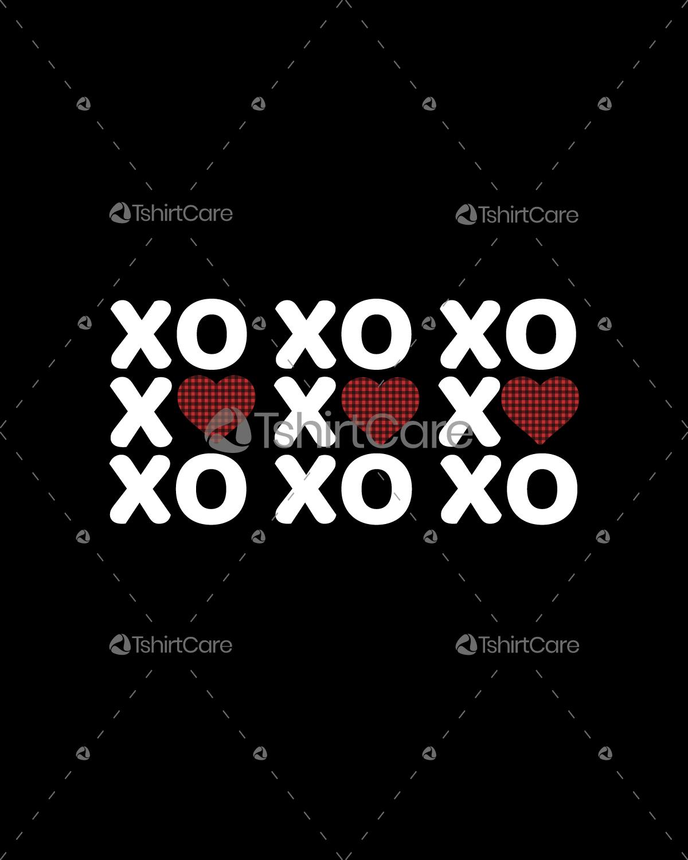 XOXO T shirt Womens & Mens Valentines shirts
