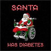 Santa has diabetes too much candy shirts