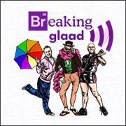 breaking bad breaking glad gay parody spoof shirts