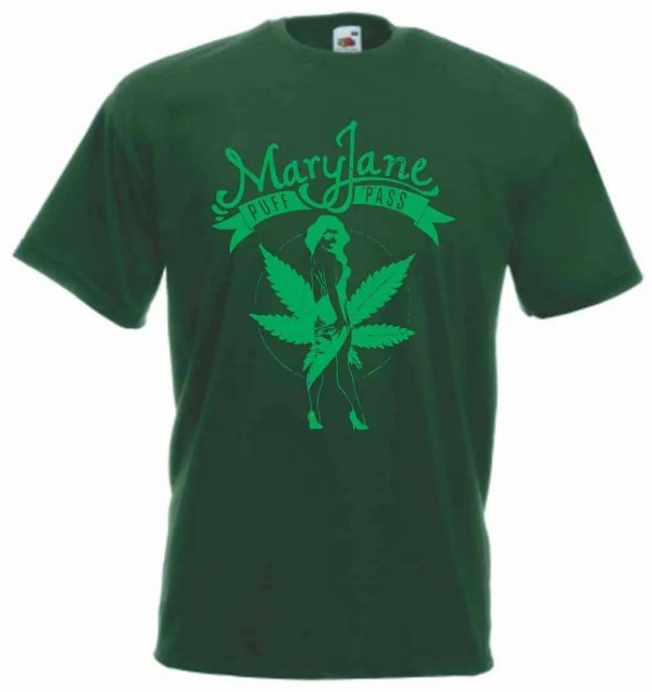 Mary Jane-marijuana tshirt-χόρτο-τύπωμα-μαύρο-valueweight-μπλουζάκι-blouzaki-φανέλα-τυπωμένο-fruit of the loom-tshirting