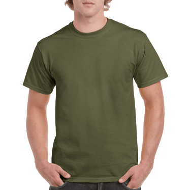 Short Sleeve T-Shirt Bottle Green