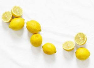 lemon for skin lightening