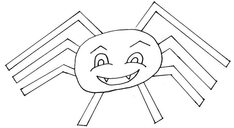 Spider Template. halloween spider template ci kori clark pumpkin ...