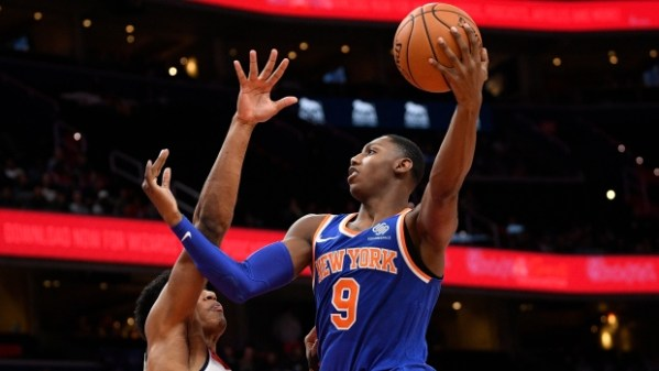 RJ Barrett scores 17 in preseason debut; New York Knicks win - TSN.ca