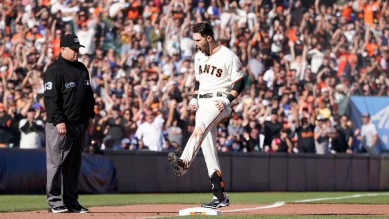 Steven Duggar San Francisco Giants Los Angeles Dodgers - TSN.ca