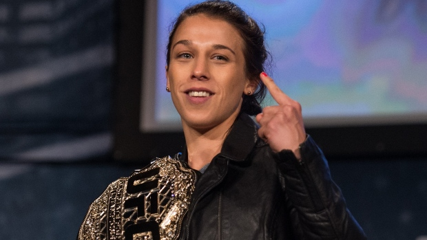 Jedrzejczyk Is Making And Chasing History At UFC 205 TSNca