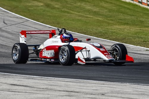 The USF-17 showing off at Road America (Photo courtesy of Indianapolis Motor Speedway, LLC Photography)