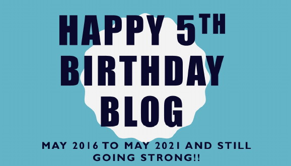 Happy 5th Birthday Blog