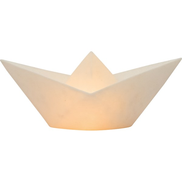 PAPIEREN BOOTJE LAMP GLASSFIBRE - BATELA PAPIEREN BOOTJE LAMP GLASSFIBRE