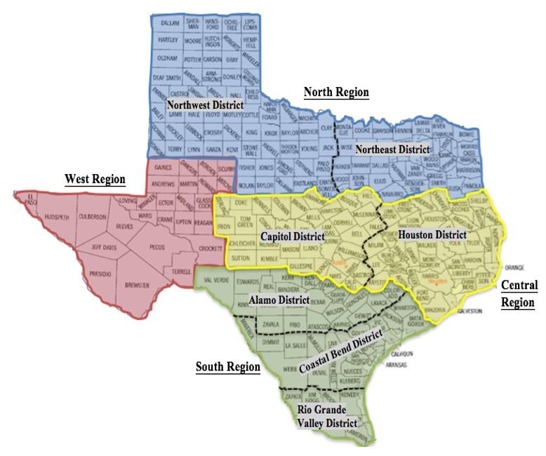 TSRC Regions