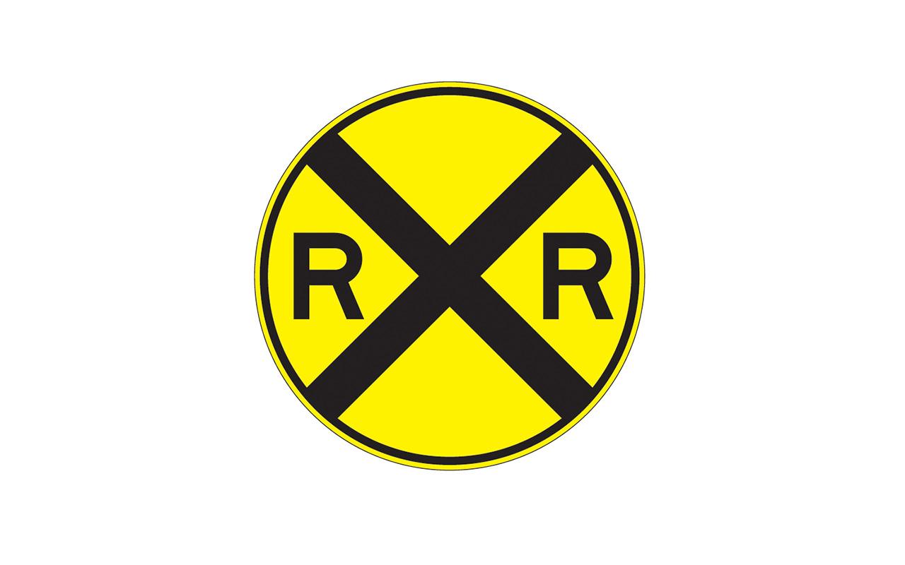Railroad Crossing Sign W10 1