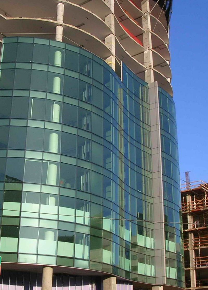Curtain wall suppliers in uae for Wall to wall curtain