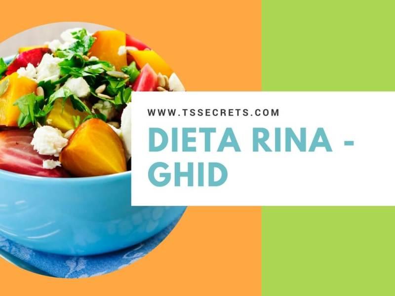 Retete satioase cu legume in dieta Rina pentru ziua de amidonoase.