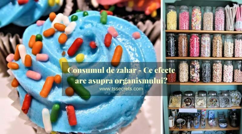 consumul de zahar efecte asupra organismului