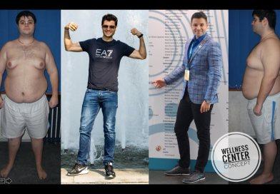 Minus 72 kg – De la un contabil cu obezitate morbidă la greutatea optimă şi un antreprenor de succes