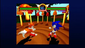Sonic the Fighters: Sonic vs. Tails