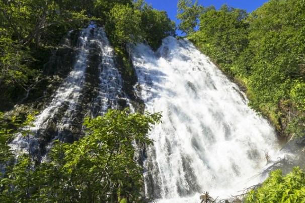 Hasil gambar untuk Oshinkoshin Falls