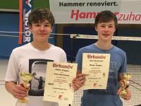 Super Ergebnisse auf NRW-Rangliste
